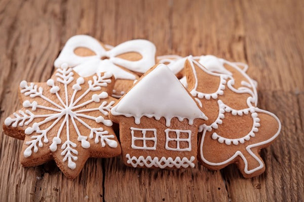 Gingerbread cookies - Happy holidays from Mile One Eating House Pemberton Restaurant