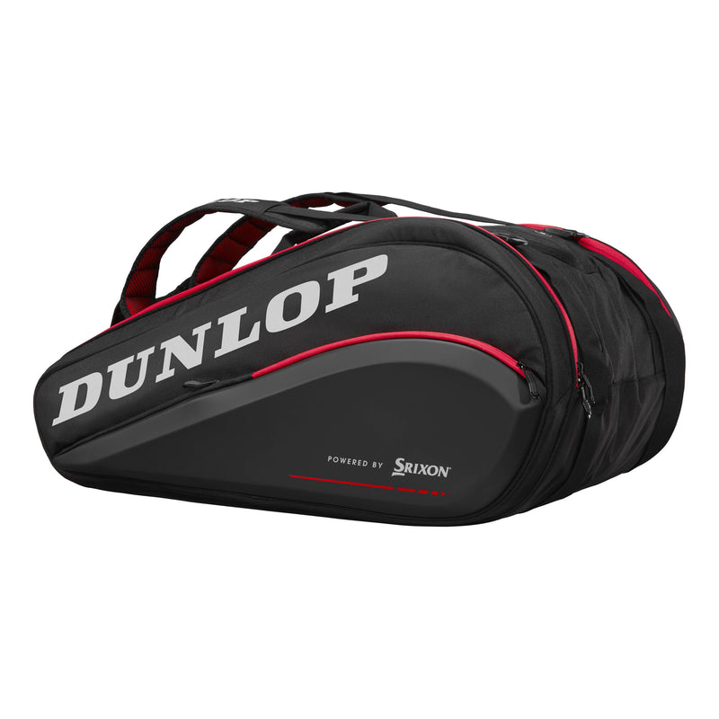 Side and Front Dunlop Tac CX Performance 15RKT Thermo (Black/Red)