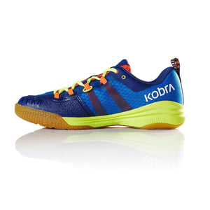 Salming Kobra Royal/Safety Yellow Men's Indoor Court Shoes