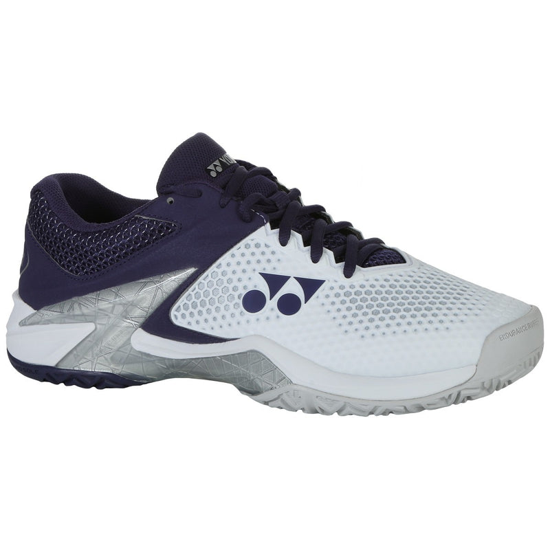 Yonex Power Cushion Eclipsion 2 White/Navy  Mens Tennis Shoes