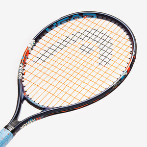 "Head Novak 21"" Junior Tennis Racquet Close up"