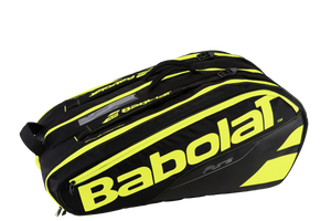 Babolat Pure Line 12 Pack Black/Yellow Tennis Bag