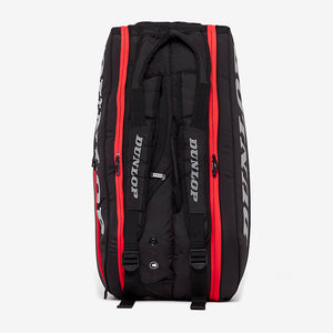 Dunlop Tac CX Performance Thermo 9 Racquet Bag (Black/Red) - Top
