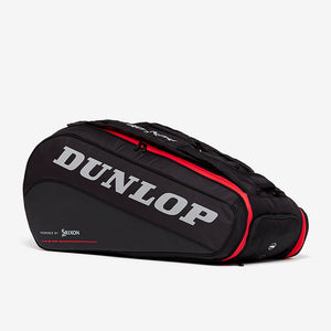 Dunlop Tac CX Performance Thermo 9 Racquet Bag (Black/Red) - Back