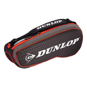 Dunlop Performance Pack 3R Red & Black Racquet Bag - Side