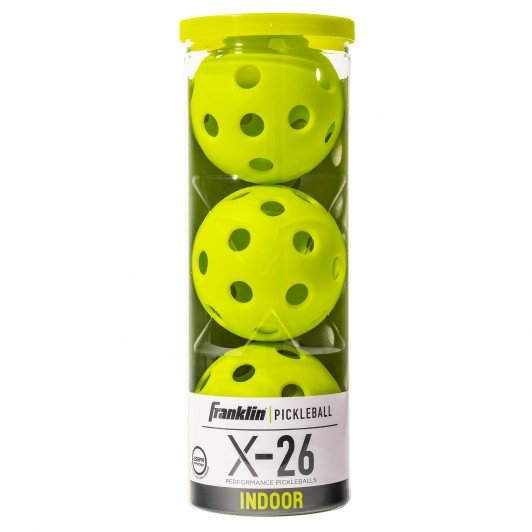 Franklin X-26 Indoor Pickleball Balls 3-Pack