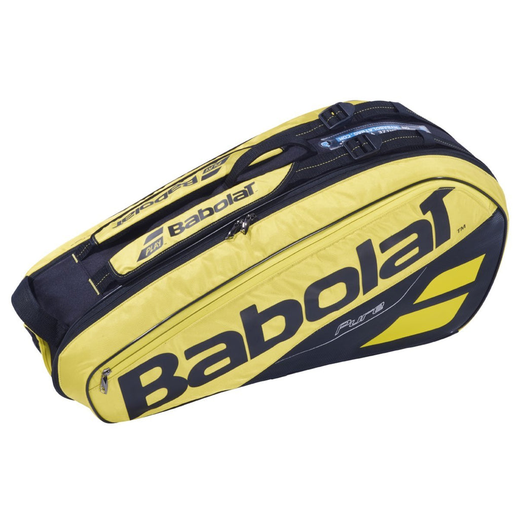 Babolat Pure Aero Yellow/Black 6 Racquet 2019