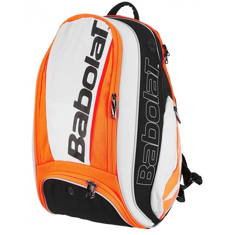 Babolat Pure Line White/Fluro Red Backpack