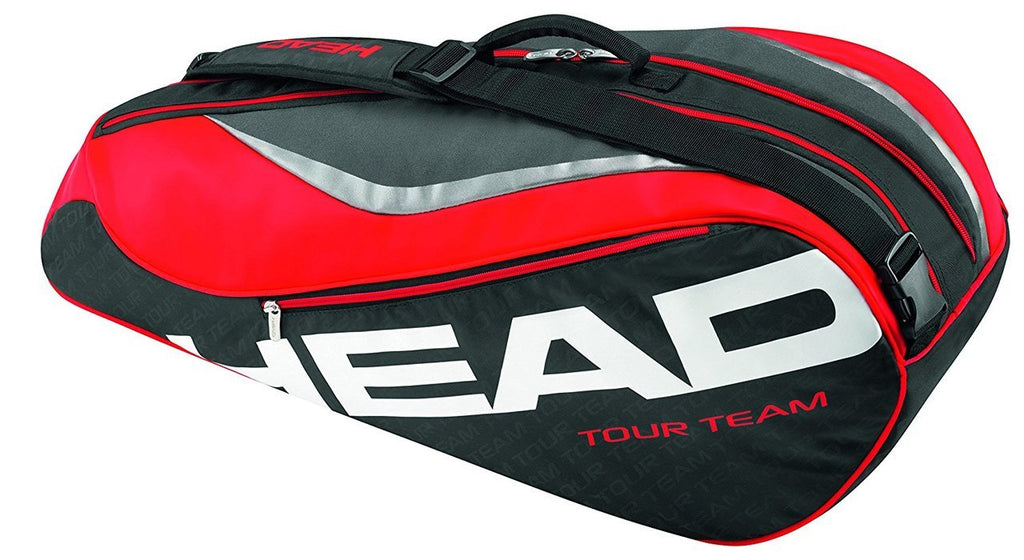 Head Tour Team 6 Racquet Combi Racquet Bag Black/Red