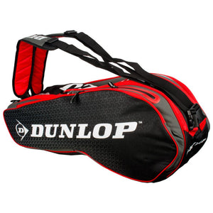 Dunlop Performance Pack 8R Red & Black Racquet Bag - Other Side