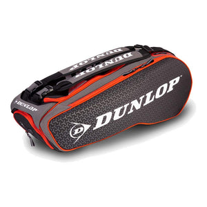 Dunlop Performance Pack 8R Red & Black Racquet Bag - Side