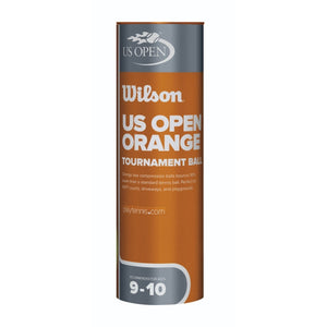 Wilson US Open Tournament Orange Tennis Ball 24 Cans (72 Balls) Tin