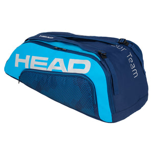 Head Tour Team 9R Supercombi Tennis Bag - Navy and Blue