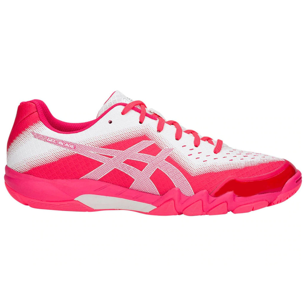 Asics GEL-Blade 6 Diva Pink/Silver Women's  Indoor Court Shoes