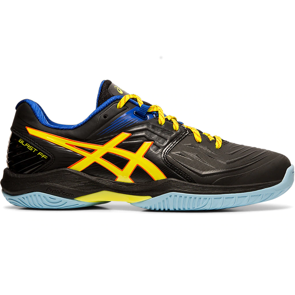 Asics Gel Blast FF Black/Sour Yuzu Men's Indoor Court Shoes