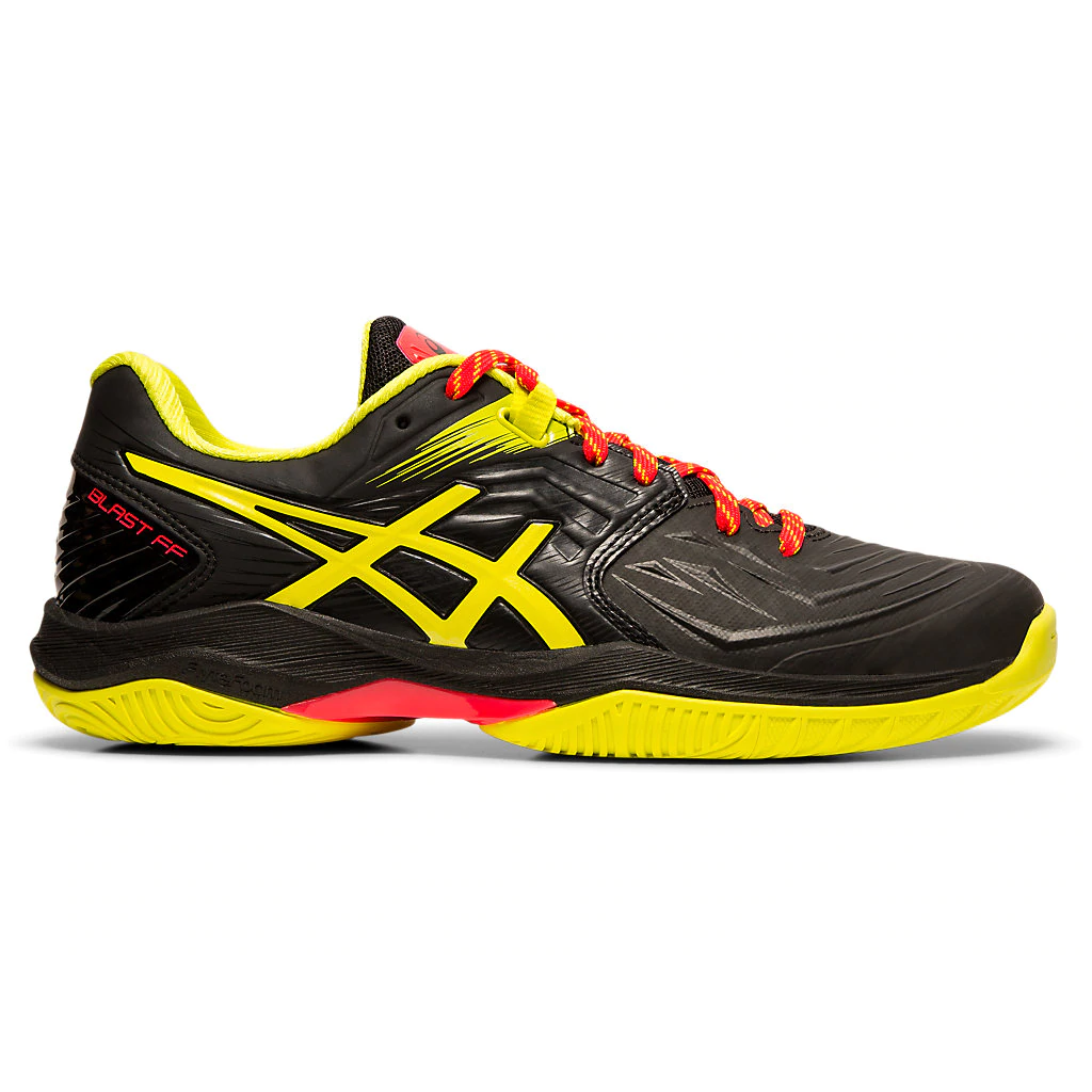 Asics Gel Blast FF Black/Sour Women's Indoor Court Shoes