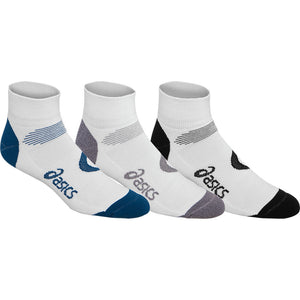 ASICS Intensity Quarter Socks (3Pack) - Poseidon
