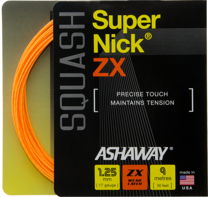 Ashaway Supernick ZX 30' 17g String Set