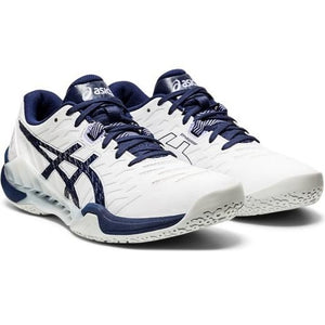 Asics Women's Blast FF 2 White/Peacoat Indoor Court shoes