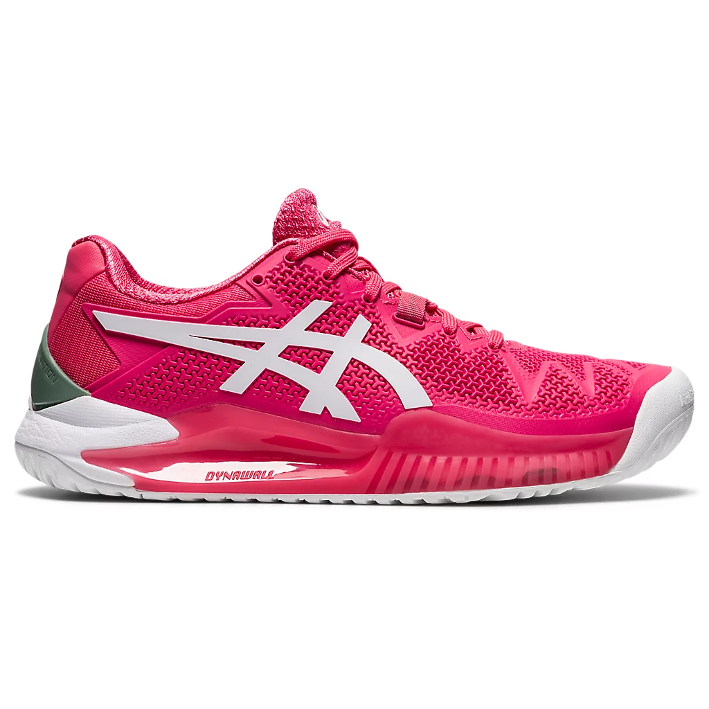 Asics Gel-Resolution 8 Pink Cameo/White Women's Tennis Shoes