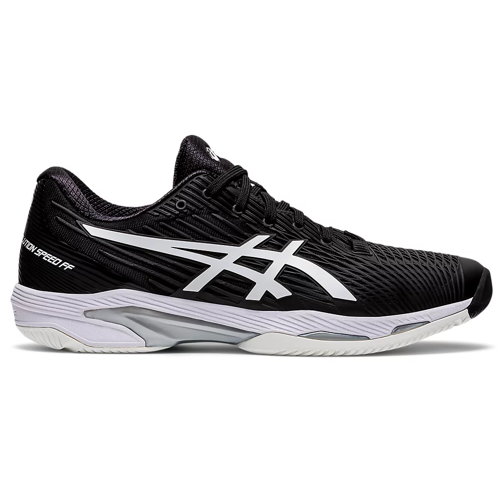 Asics Solution Speed  FF 2 Black/White Men's Tennis Shoes