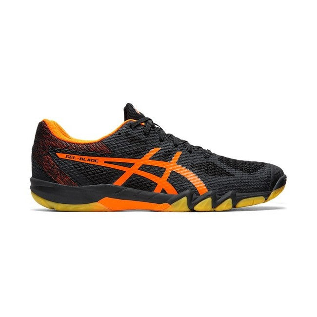 Asics Gel Blade 7 Black/Shocking Orange Men's Indoor Court Shoes