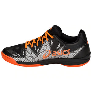 Asics Gel-Fastball 3 Black/Shocking Orange Indoor Court Shoes