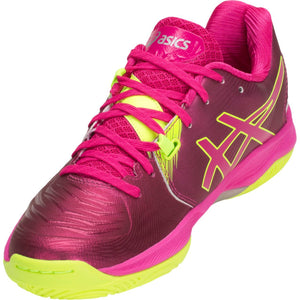 Asics Gel Blast FF Pink Rave/Silver Women's Indoor Court Shoes