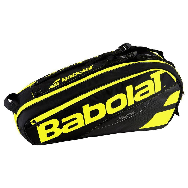 Babolat Pure Line 6 Pack Black/Yellow Tennis Bag