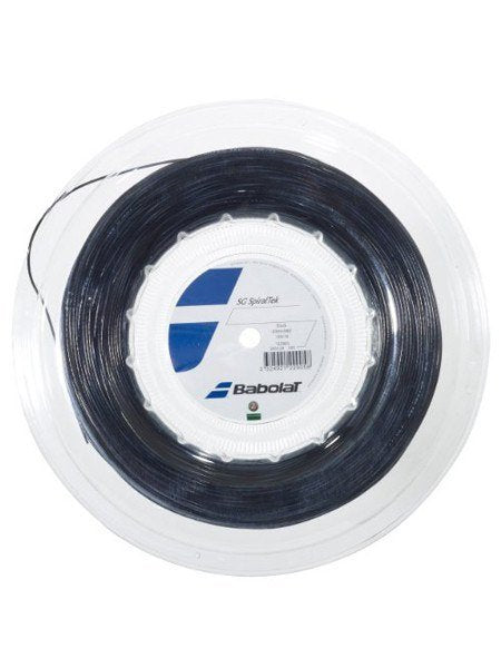 Babolat SpiralTek 16g/1.30mm Tennis String Reel - Black