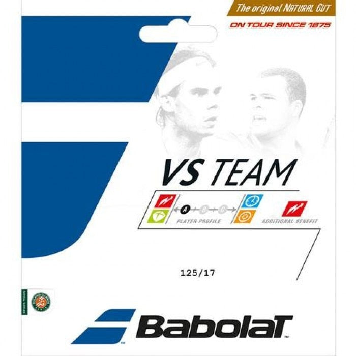 Babolat VS Team Natural Gut 17g Tennis String Set