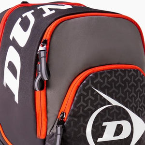 Dunlop Performance Red Backpack - Zoomed in