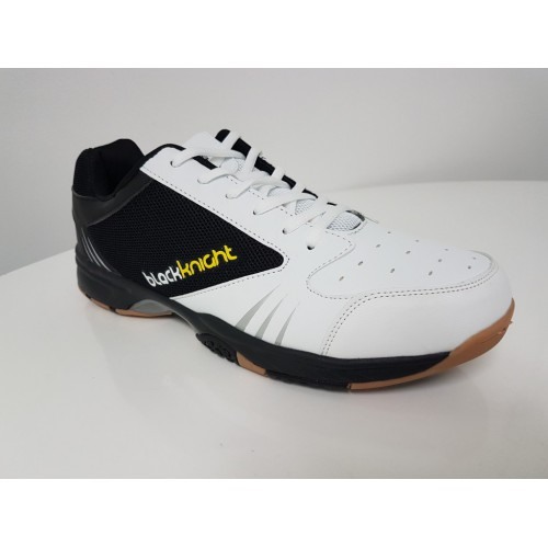 Black Knight Reactor X8 Black/White Indoor Squash Shoes