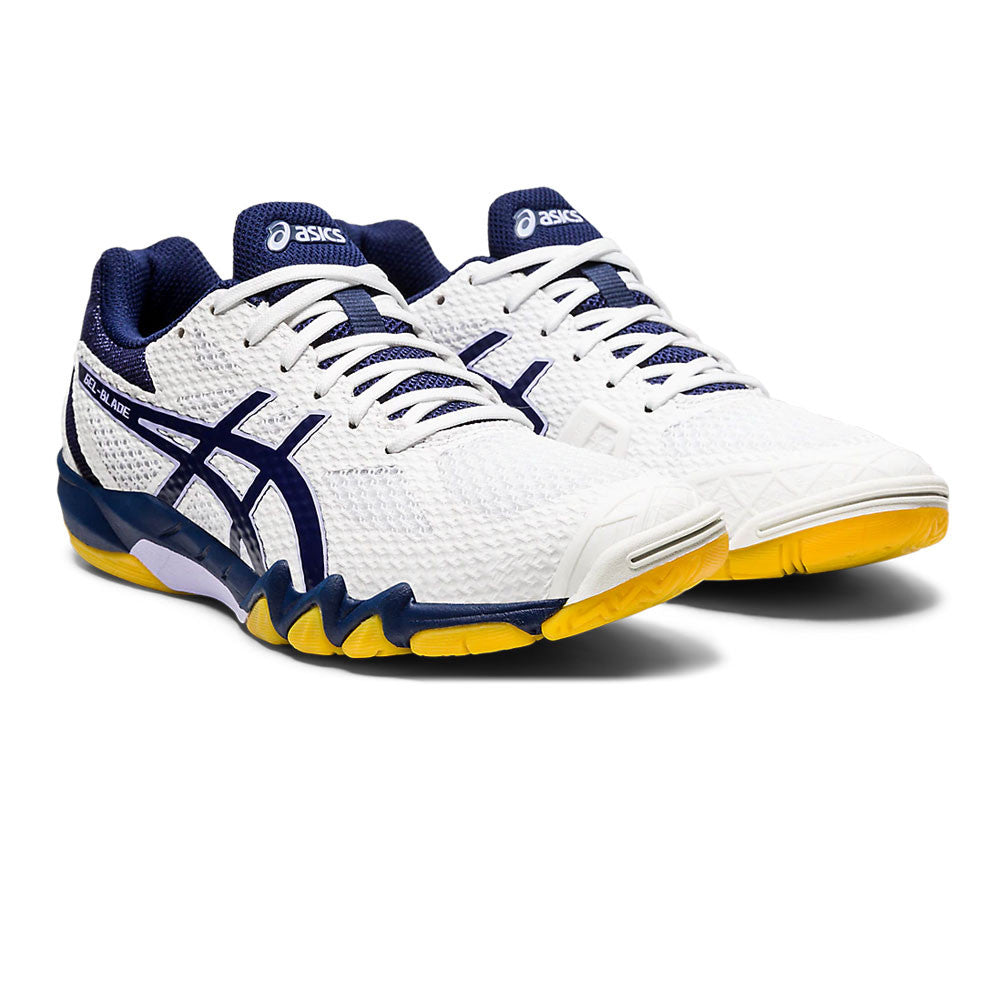 Asics Women's Gel Blade 7 White / Peacoat