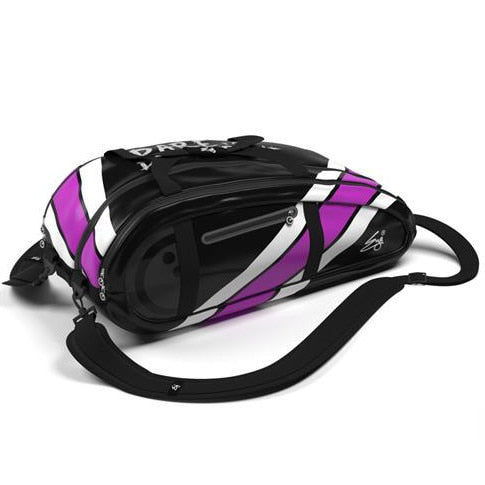 Eye Rackets 10 Racquet Squash Bag Black/Purple