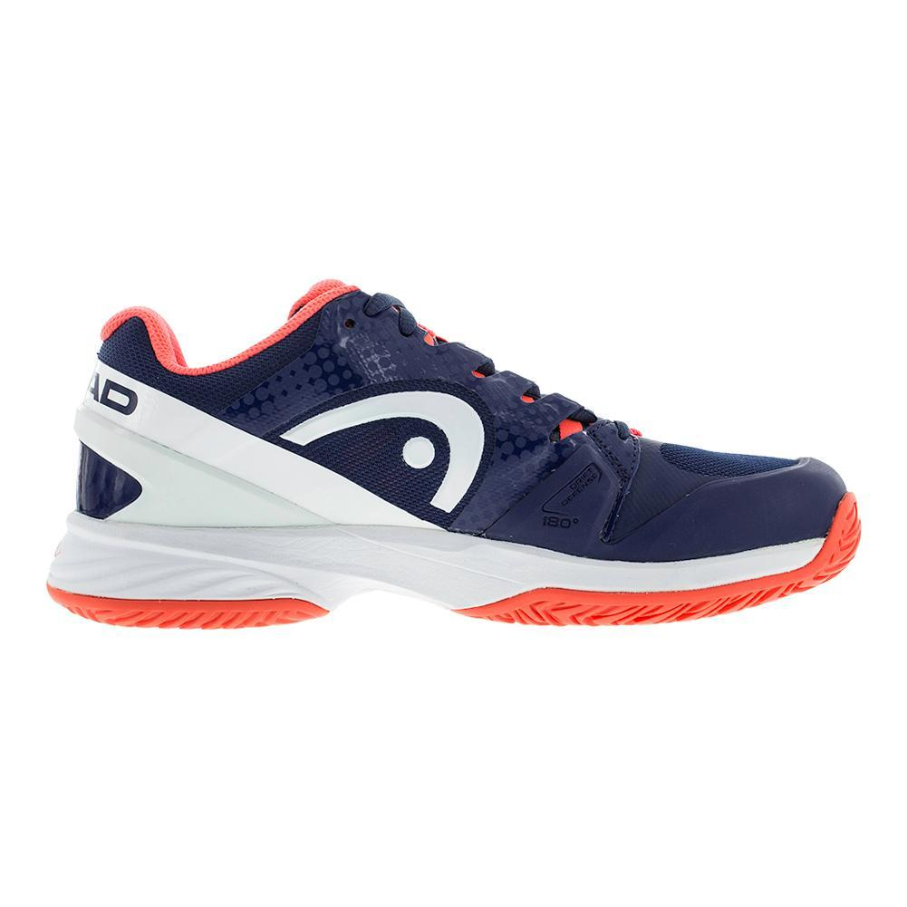 Head Nitro Pro Navy/Coral Womens Tennis Shoes