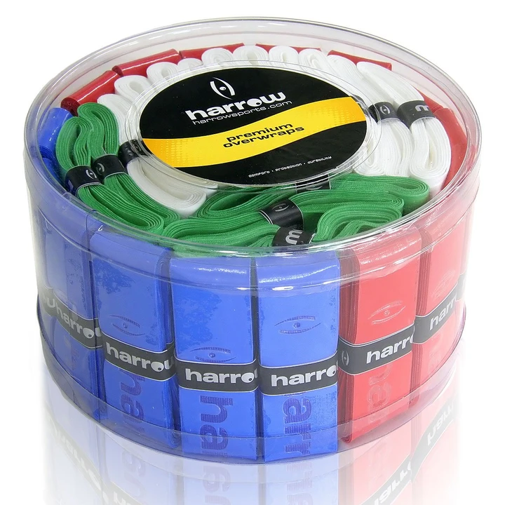 Harrow Overgrips - Assorted Tub of 60
