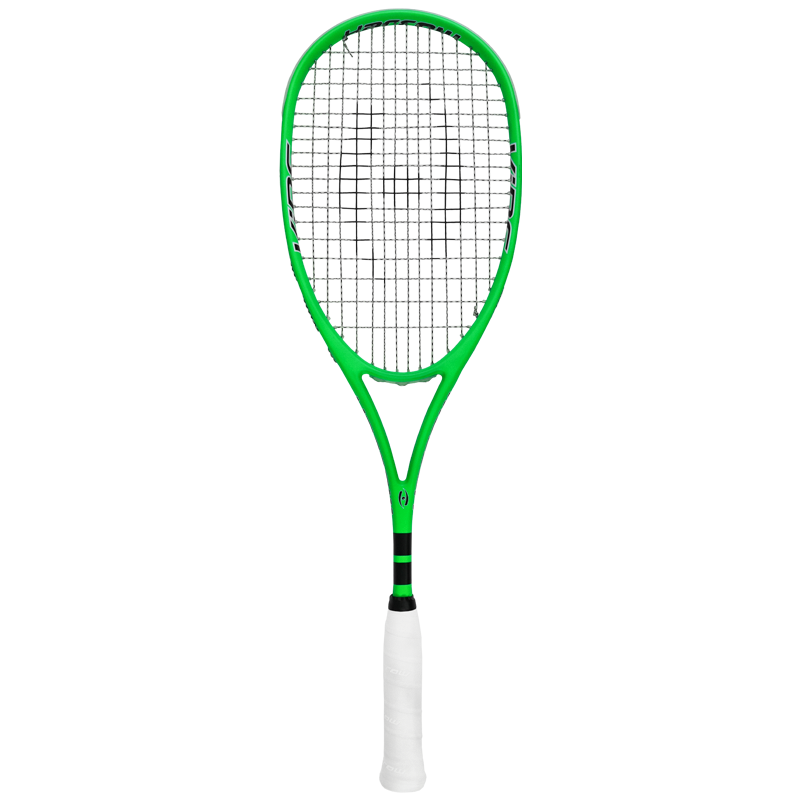 Harrow Vibe Lime/Black Squash Racquet