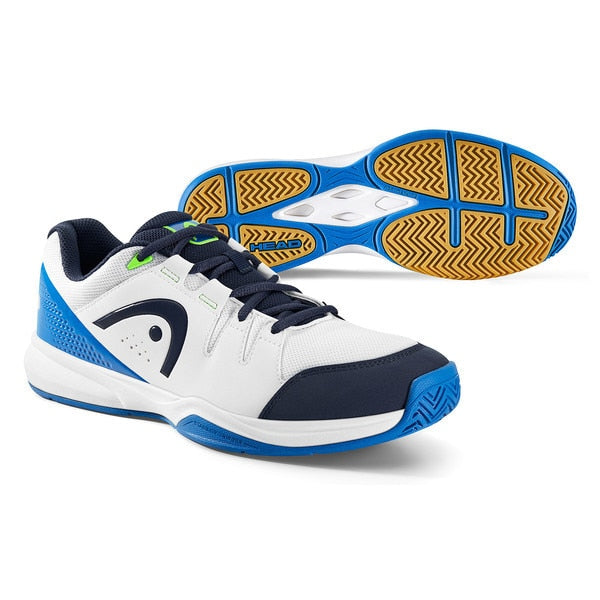 HEAD Grid 3.0 White/Blue Indoor Court Shoes