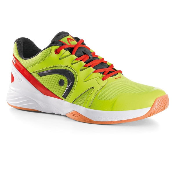 Head Nitro Team Neon Yellow Flame Indoor Court Shoes