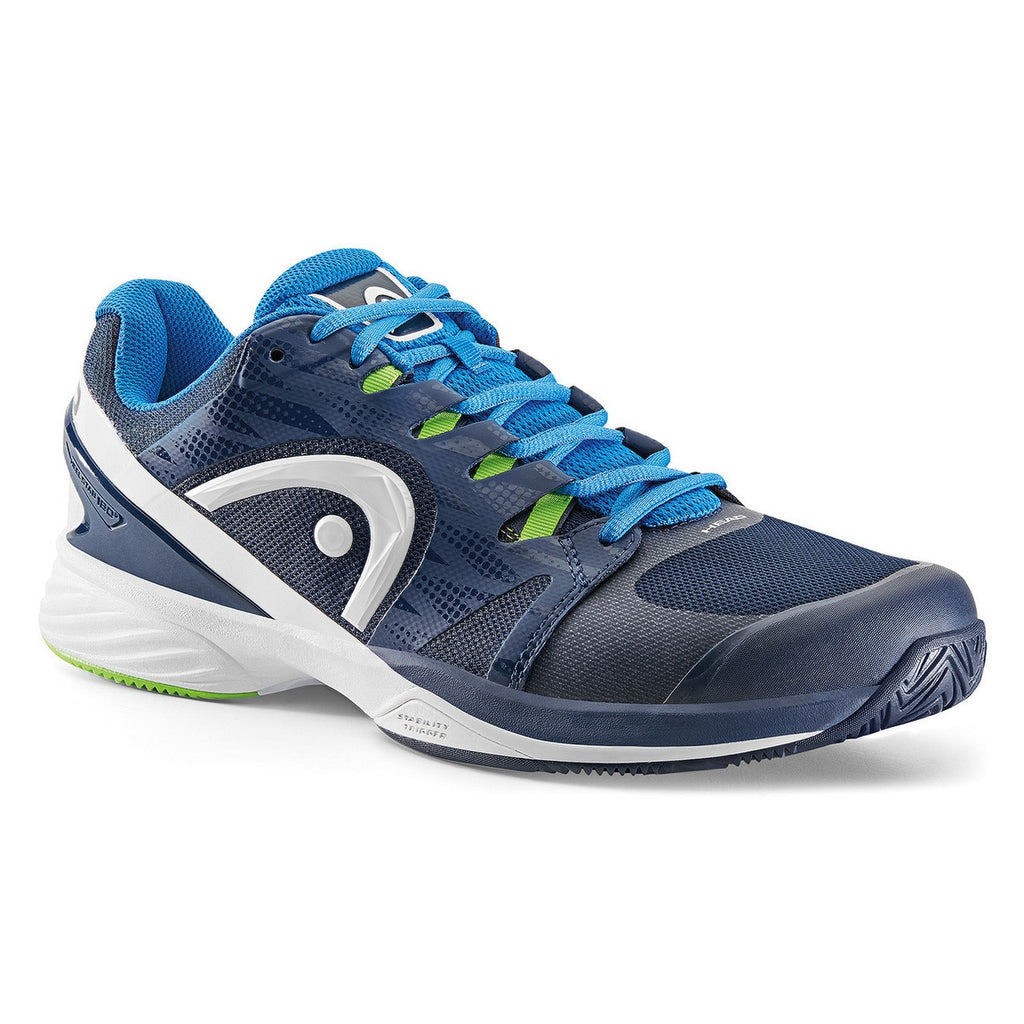 Head Men's Nitro  Pro Navy/Neon Green Tennis Shoes