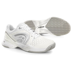 Head Revolt Pro White/Silver Womens Tennis Shoes