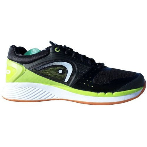 Head Sprint Pro Indoor Court Shoes Black/Lime