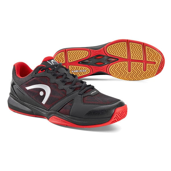 Head Revolt Black/Red Indoor Court Shoe