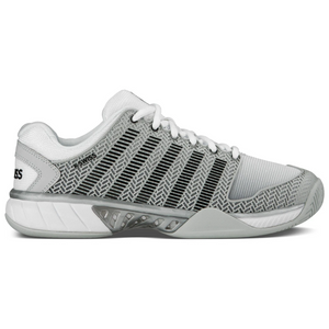 K-Swiss Hypercourt Express Grey/White/Silver Men's Tennis Shoes