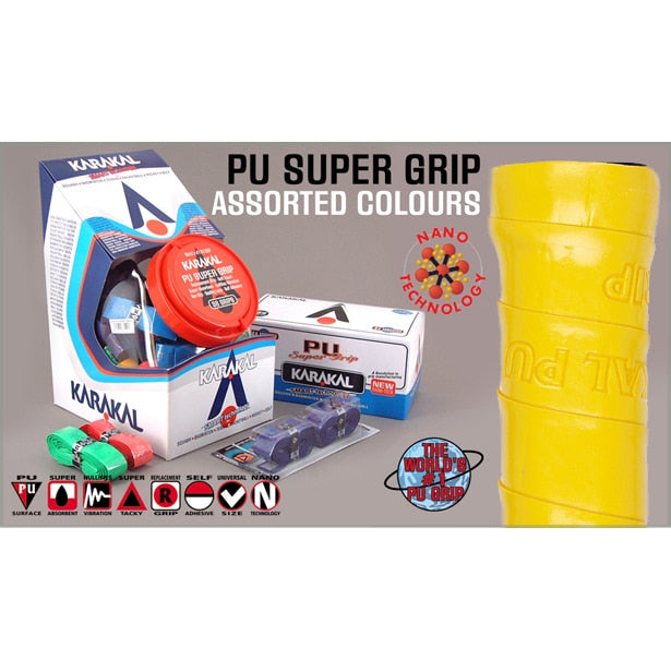 Karakal PU Supergrip - Box of 24 Assorted Colours