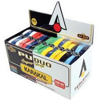 Karakal PU Supergrip - Box of 24 Duo Colour Assorted Colour Grips