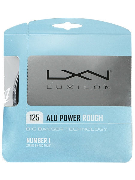 Luxilon 125 ALU Power Rough 16L Tennis Set
