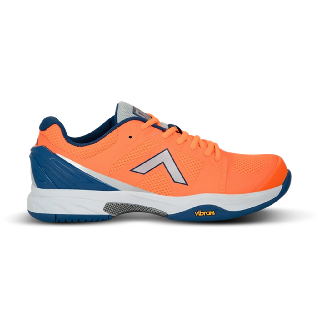 Tyrol Pro Striker V Men's Indoor Pickleball Shoes Fluorescent Orange/Navy