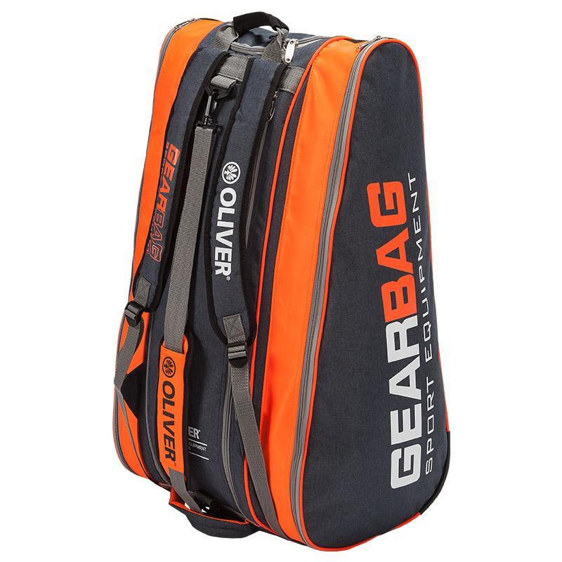 Oliver Gearbag Grey/Orange Racquet Bag